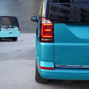 VW BUS T6 Teilfolierung